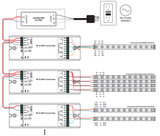 12 volt rgbw controller