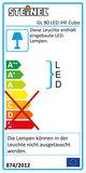 Steinel GL 80 iHF Cubo LED Wandlamp