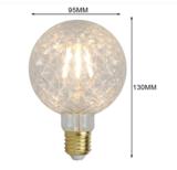 LED pine lamp