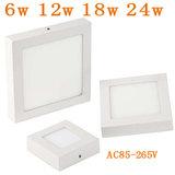 LED Paneel Plafondlamp 18W, Vierkant 23x23cm, Opbouw_