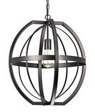 Hanglamp Ovaal Zwart
