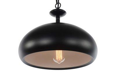 Bourdeaux Vintage Design Hanglamp Zwart