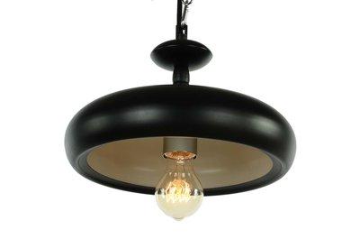 Berlin Vintage Retro Design Hanglamp Zwart