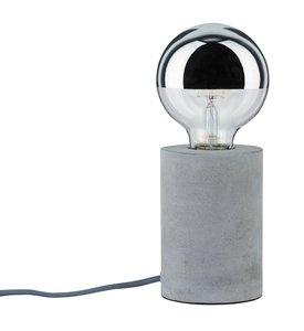 Paulmann Neordic Mik Design Tafellamp Van Beton, E27 Fitting