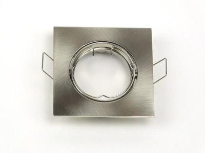 Inbouwspot Aluminium, Vierkant, Kantelbaar