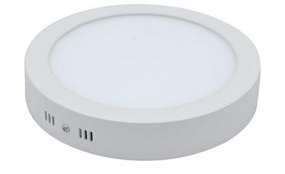 LED Paneel Plafondlamp 18W, Rond 22.5cm, Opbouw