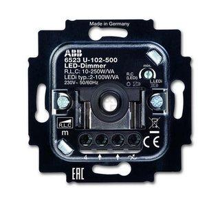 ABB Busch-Jaeger 6523U-102-500 LED Dimmer 230V, fase aansnijding 2W-100W