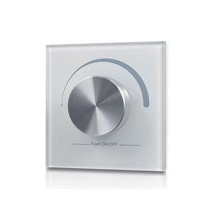 LED RF Enkelkleurige Dimmer, Wand, Draadloos, Wit, Pro