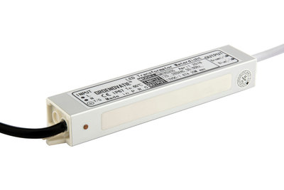 LED Transformator 12V, Max. 20 Watt, Waterdicht IP67