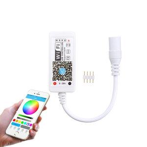 LED Strip RGB Wifi Controller Mini, 3 x 4A, 5-28V
