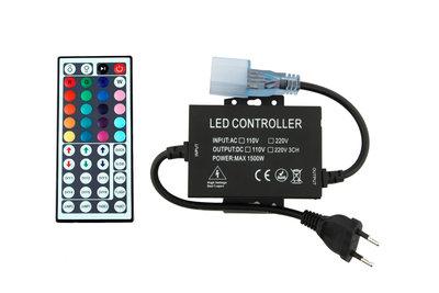 LED Neon Flex RGB Controller Aansluitstekker Met Afstandsbediening