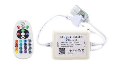 LED Neon Flex RGB Bluetooth Controller Aansluitstekker Met Afstandsbediening