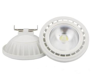 AR111 / G53 LEDspot COB 9W 12V 24D Warm Wit Dimbaar