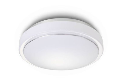 LED Plafondlamp 12W, Warm Wit, Rond 27cm