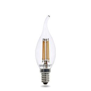 E14 LED Filament Kaarslamp Tip 4W Warm Wit Dimbaar
