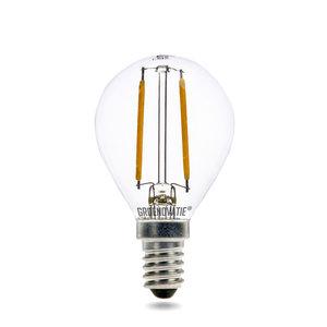 E14 LED Filament Kogellamp 2W Extra Warm Wit Dimbaar