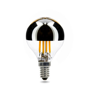E14 LED Filament G45 Kopspiegellamp 4W Warm Wit Dimbaar