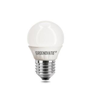 E27 Dimbare LED Kogellamp 4W Warm Wit