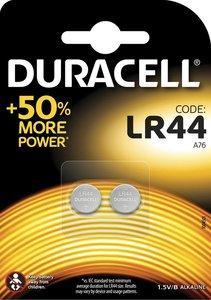 Duracell Knoopcel Batterij, LR44, Niet Oplaadbaar, 2 Stuks