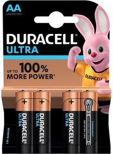 Duracell Ultra Power AAA Batterij, LR03, Niet Oplaadbaar, 4 Stuks