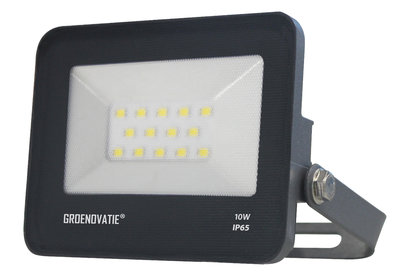 LED Breedstraler 10W Waterdicht IP65 Neutraal Wit