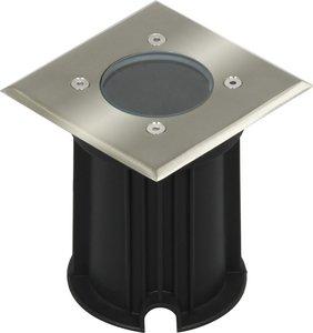 LED Grondspot Tuinverlichting 3W Waterdicht IP65, Vierkant, Warm Wit