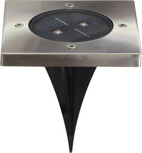 LED Solar Grondspot Tuinverlichting, Bewegingsmelder, Waterdicht IP44, Warm Wit