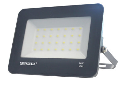 LED Breedstraler 20W Waterdicht IP65 Neutraal Wit
