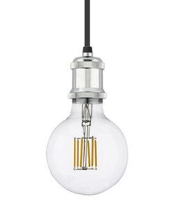 Vintage Hanglamp Fitting E27, Chroom