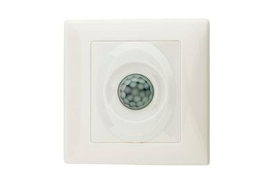 LED PIR Bewegingsmelder/Sensor Inbouw Wand, IP20, Wit
