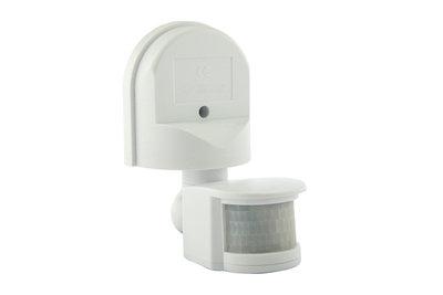 LED PIR Bewegingsmelder/Sensor Opbouw Kantelbaar, Waterdicht IP44, Wit