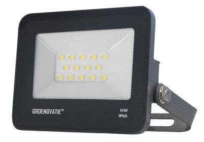 LED Breedstraler 10W Waterdicht IP65 Neutraal Wit