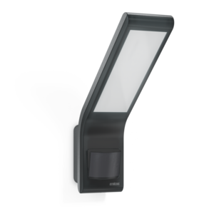 Steinel LED Wandarmatuur 10,5W Bewegingssensor, Waterdicht IP44, Antraciet