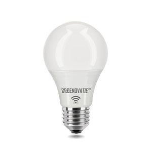 E27 LED Lamp 5W Warm Wit, HF Bewegingssensor