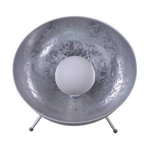 Arles Industrieel Design Tafellamp Zilver Wit