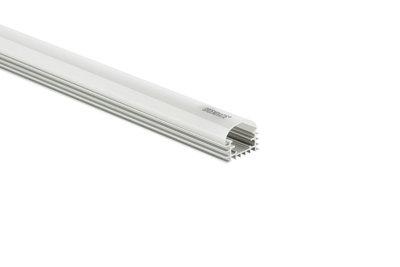 Aluminium Profiel LED Strip Halfrond 1,5m - Compleet