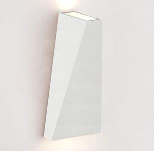 LED Wandlamp 10W Driehoek Warm Wit, Wit