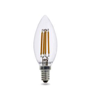 E14 LED Filament Kaarslamp 4W Extra Warm Wit Dimbaar