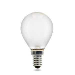 E14 LED Filament Kogellamp 2W Extra Warm Wit Dimbaar Mat