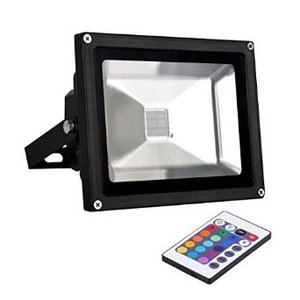 LED Breedstraler 50W Waterdicht IP65 RGB