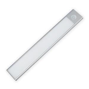 LED Kastverlichting 0.6W op Accu met Sensor, Oplaadbaar, Warm Wit