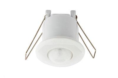 LED PIR Bewegingsmelder/Sensor Inbouw Plafond Mini, IP20, Wit