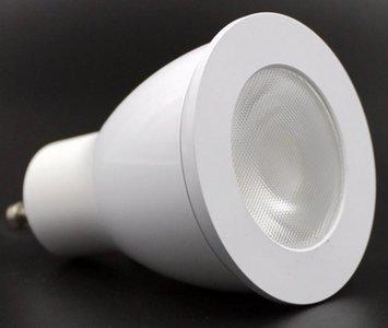 GU10 Dimbare LED Spot COB 7W Warm Wit