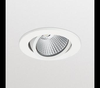 Philips LEDinaire LED Inbouwspot 6W Dimbaar, Kantelbaar, Ø80mm, Warm Wit