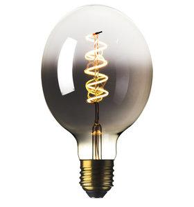 E27 LED Filament XL Half Smoke Globelamp 6W Warm Wit Dimbaar