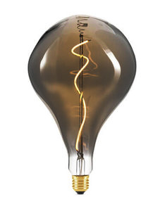 E27 LED Filament XL A165 Smoke Lamp 6W Warm Wit Dimbaar