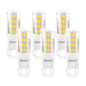 6 pack g9 led lamp