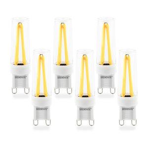 g9 LED dimbaar 6 pack