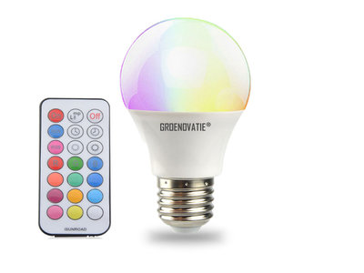 RGB LED E27