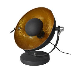 Industrieel Tafellamp Goud Zwart